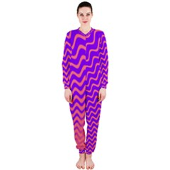 Pink And Purple OnePiece Jumpsuit (Ladies)