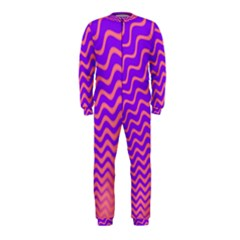 Pink And Purple OnePiece Jumpsuit (Kids)
