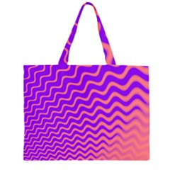 Pink And Purple Large Tote Bag