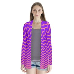 Pink And Purple Cardigans