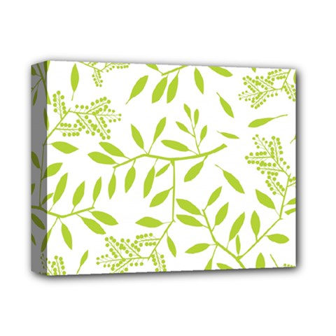 Leaves Pattern Seamless Deluxe Canvas 14  X 11
