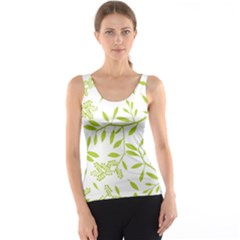 Leaves Pattern Seamless Tank Top