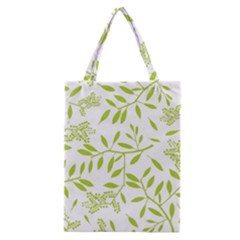 Leaves Pattern Seamless Classic Tote Bag