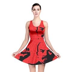 Lenin  Reversible Skater Dress