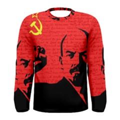 Lenin  Men s Long Sleeve Tee