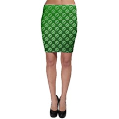 Whatsapp Logo Pattern Bodycon Skirt