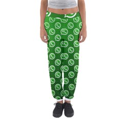Whatsapp Logo Pattern Women s Jogger Sweatpants
