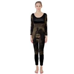 Count Vlad Dracula Long Sleeve Catsuit