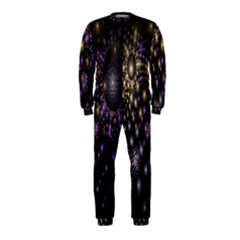 Fractal Patterns Dark Circles OnePiece Jumpsuit (Kids)