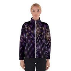 Fractal Patterns Dark Circles Winterwear