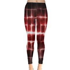 Electric Lines Pattern Leggings