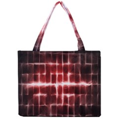 Electric Lines Pattern Mini Tote Bag
