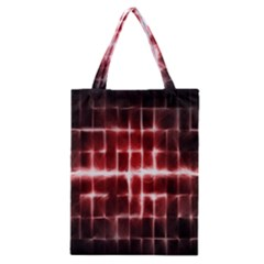 Electric Lines Pattern Classic Tote Bag