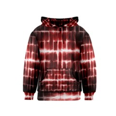 Electric Lines Pattern Kids  Zipper Hoodie