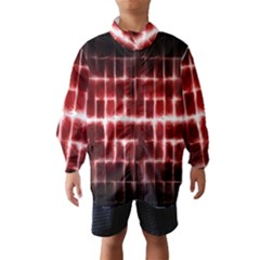Electric Lines Pattern Wind Breaker (Kids)