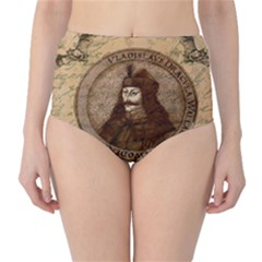 Count Vlad Dracula High-Waist Bikini Bottoms