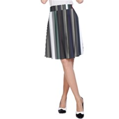 Miracle Mile Pattern A-Line Skirt