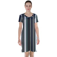 Miracle Mile Pattern Short Sleeve Nightdress
