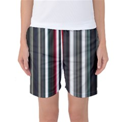 Miracle Mile Pattern Women s Basketball Shorts