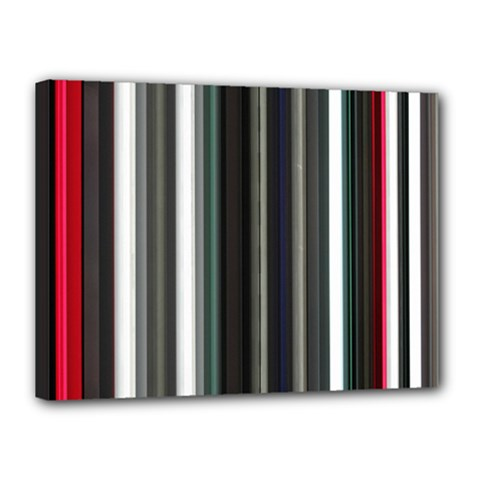 Miracle Mile Pattern Canvas 16  X 12