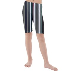 Miracle Mile Pattern Kids  Mid Length Swim Shorts