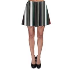 Miracle Mile Pattern Skater Skirt