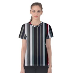 Miracle Mile Pattern Women s Cotton Tee
