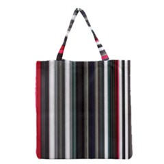 Miracle Mile Pattern Grocery Tote Bag