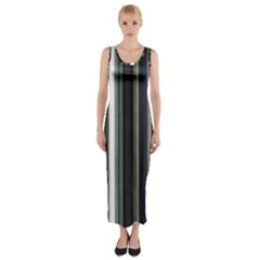 Miracle Mile Pattern Fitted Maxi Dress