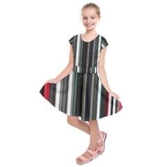 Miracle Mile Pattern Kids  Short Sleeve Dress