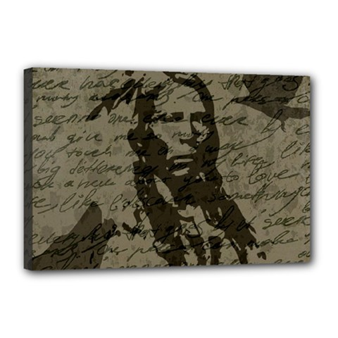 Indian chief Canvas 18  x 12