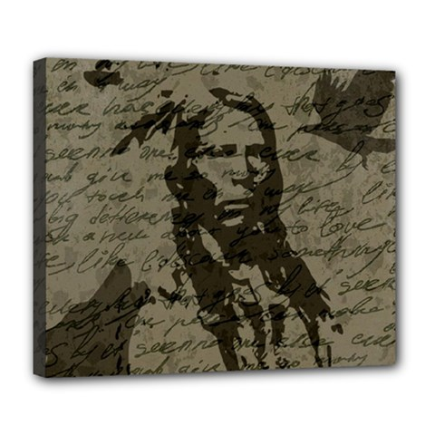 Indian chief Deluxe Canvas 24  x 20