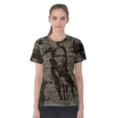 Indian chief Women s Cotton Tee