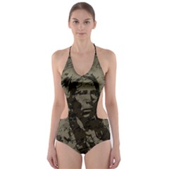 Indian chief Cut-Out One Piece Swimsuit