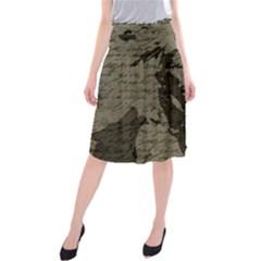 Indian chief Midi Beach Skirt
