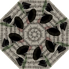 Vintage music design Folding Umbrellas