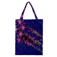 Stars Abstract Shine Spots Lines Classic Tote Bag