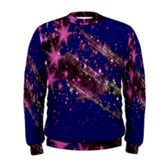 Stars Abstract Shine Spots Lines Men s Sweatshirt