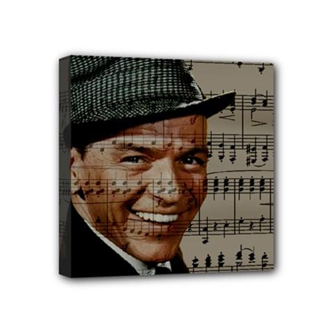 Frank Sinatra  Mini Canvas 4  x 4