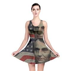Lincoln day  Reversible Skater Dress