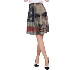 Lincoln day  A-Line Skirt