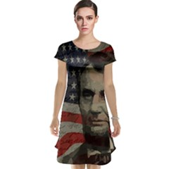 Lincoln day  Cap Sleeve Nightdress