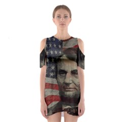 Lincoln day  Shoulder Cutout One Piece