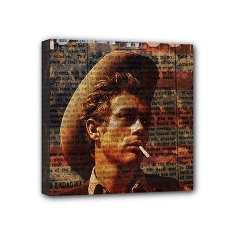 James Dean   Mini Canvas 4  x 4