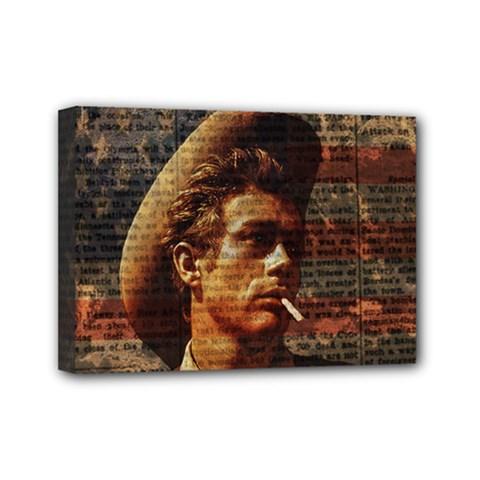 James Dean   Mini Canvas 7  x 5