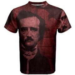 Edgar Allan Poe  Men s Cotton Tee