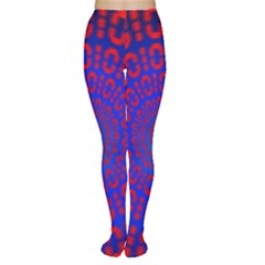 Binary Code Optical Illusion Rotation Women s Tights