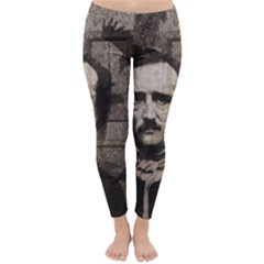 Edgar Allan Poe  Classic Winter Leggings