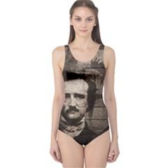 Edgar Allan Poe  One Piece Swimsuit
