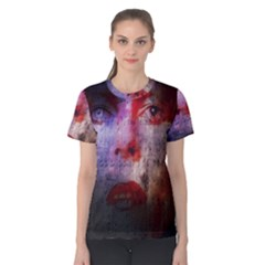 David Bowie  Women s Cotton Tee